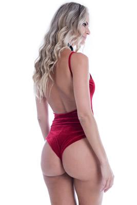 Imagem - Body Velvet de Alcinha