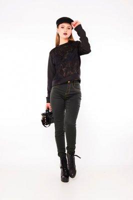 Imagem - Calça Jeans Color Cintura Alta