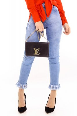 Imagem - Calça Jeans com Barra Destroyed