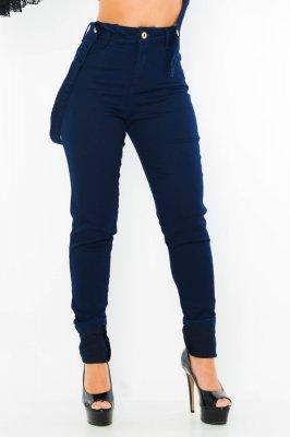 Imagem - Calca Jeans com Suspensório