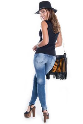 Imagem - Calça Jeans Estonada