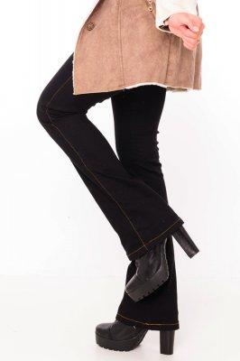 Imagem - Calça Jeans Flare Black
