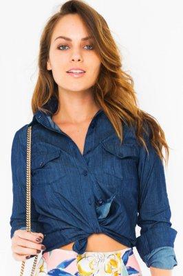 Imagem - Camisa Jeans Clássica