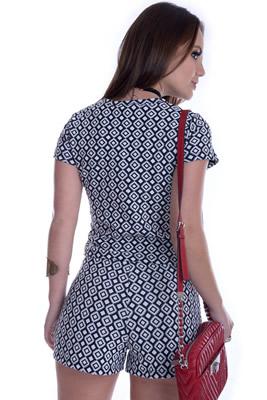 Imagem - Shorts Básico com Estampa