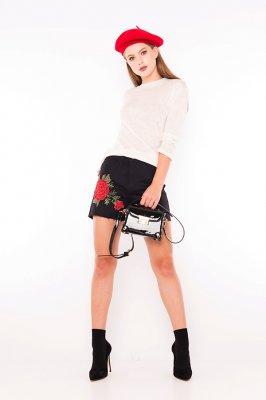 Imagem - Shorts Jeans Black com Bordado