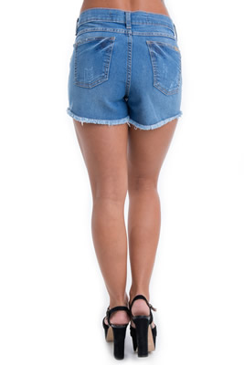 Imagem - Shorts Jeans - Cintura Alta