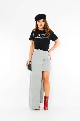 Imagem - T-shirt com Lettering