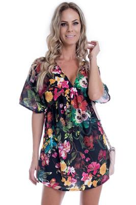 Imagem - Vestido Amplo Flowers