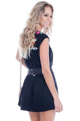 Imagem - Vestido Colors com Pregas