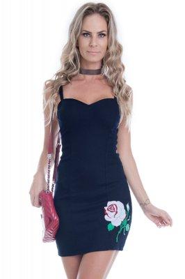 Imagem - Vestido de Alcinha com Bordado