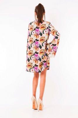 Imagem - Vestido Evasê Floral