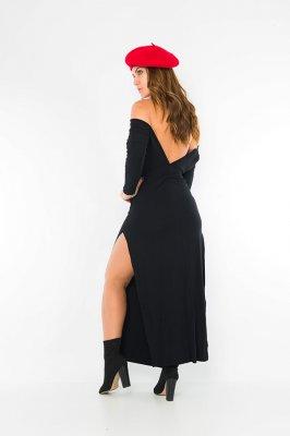Imagem - Vestido Longo Decote nas Costas