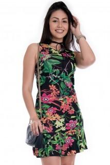 Imagem - Vestido Regata com Estampa Floral