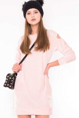Imagem - Vestido Velvet com Recortes nos Ombros