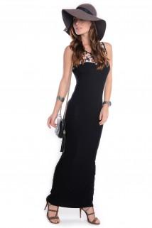 Vestido Básico  Longo
