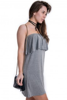 Vestido de Babado
