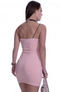 Vestido Jacquard de Alcinha