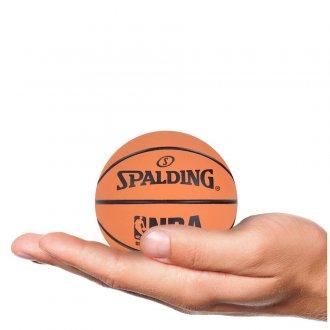 Imagem - MINI BOLA SPALDING NBA SPALDEEN cód: 51161-240-462