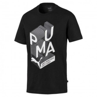 Imagem - CAMISETA PUMA GRAPHIC EFFECT INTEREST cód: 580193-01-8-44