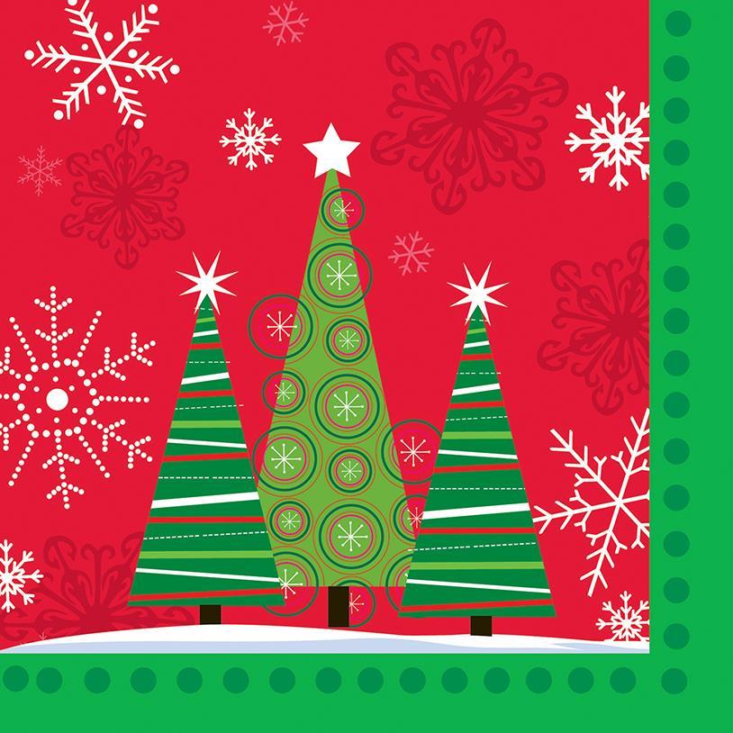 GUARDANAPOS CHRISTMAS TREE 20PÇS 25X25CM