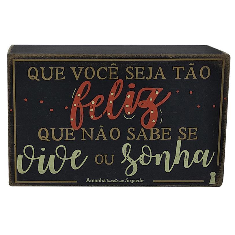 QUADRO BOX VIVE SONHA 10X15CM