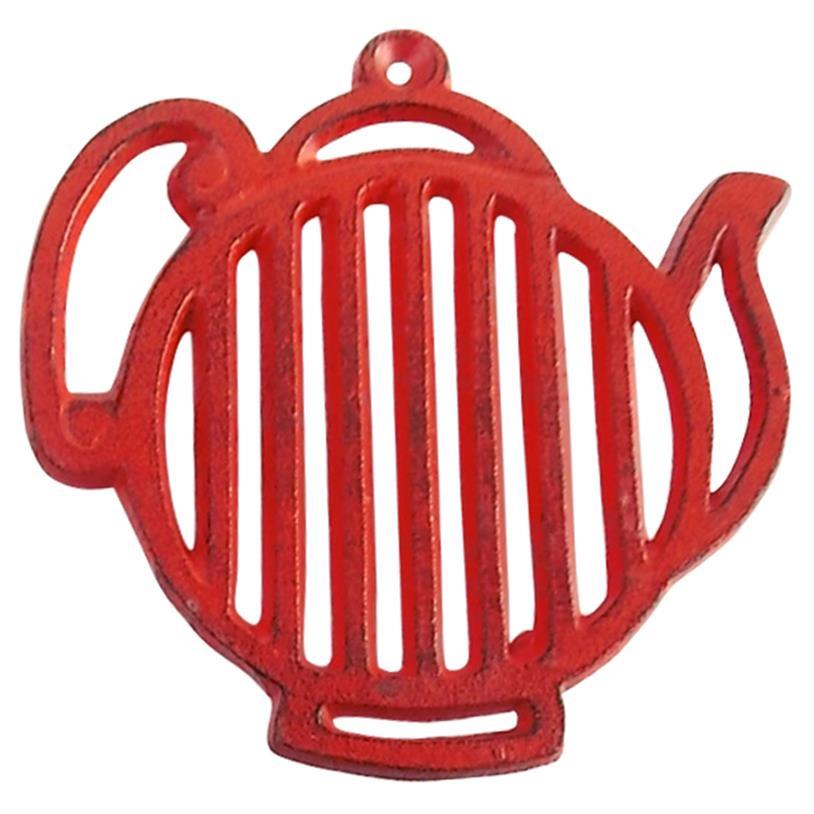 Imagem - SUPORTE PANELA BULE STRIPES RED 17X16CM cód: 35940