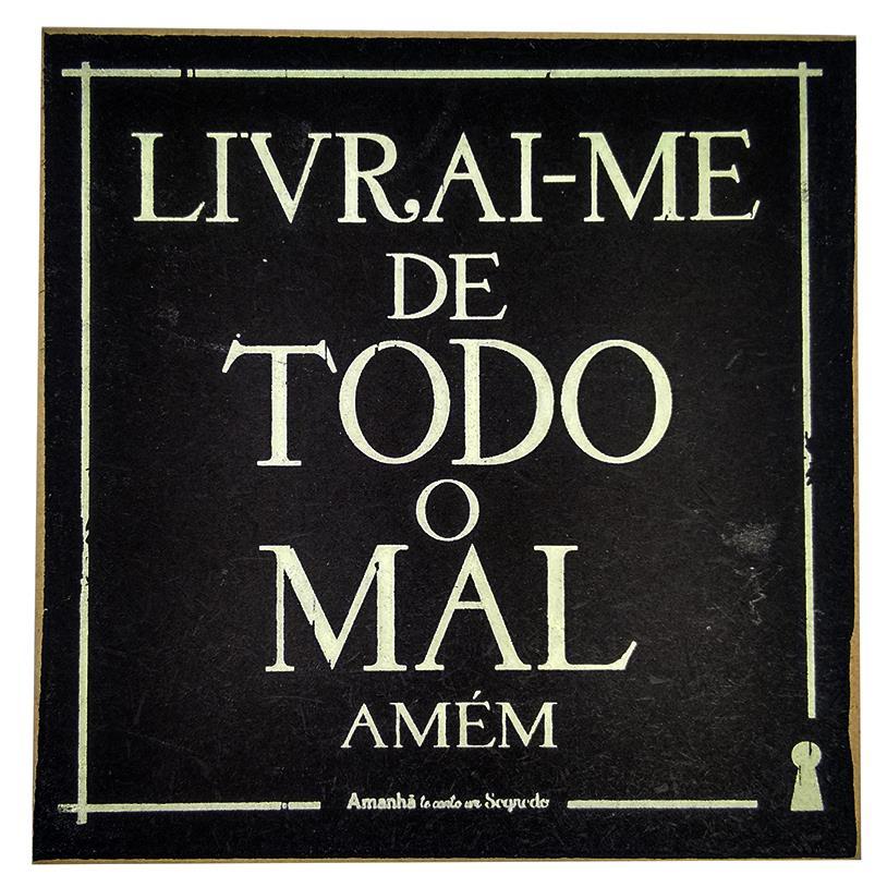 Imagem - IMÃ LIVRAI-ME 09X09CM cód: 37235