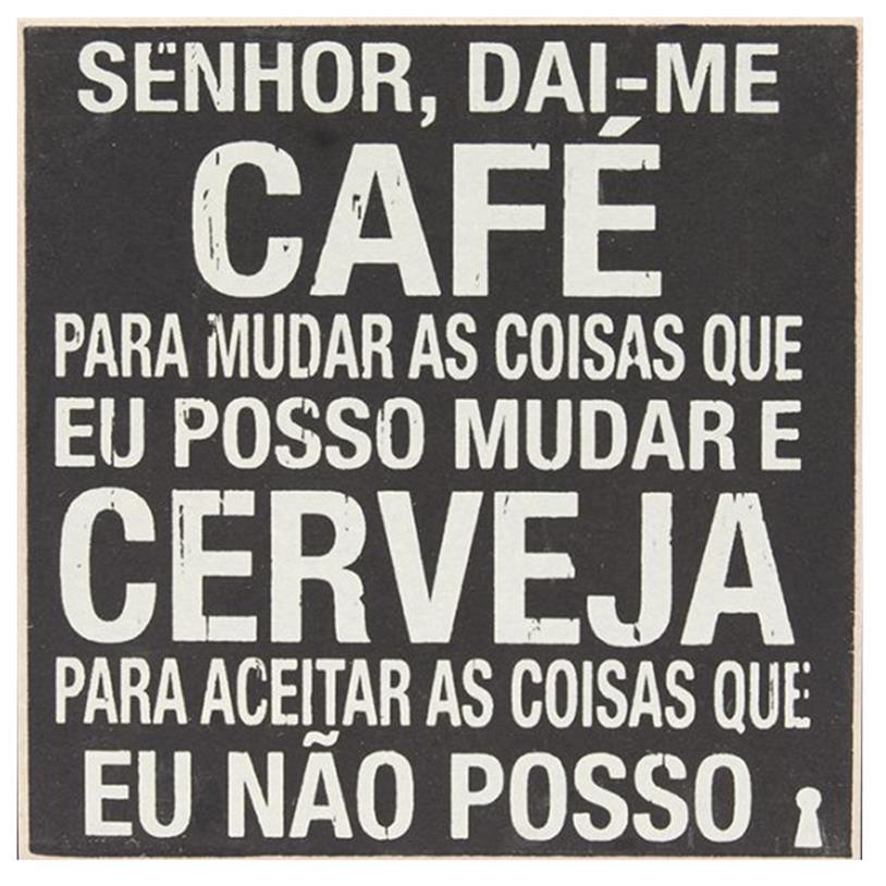 Imagem - IMÃ SENHOR DAI-ME CAFÉ 09X09CM cód: 37237