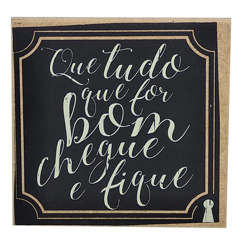Imagem - IMÃ QUE FOR BOM 09X09CM cód: 37678