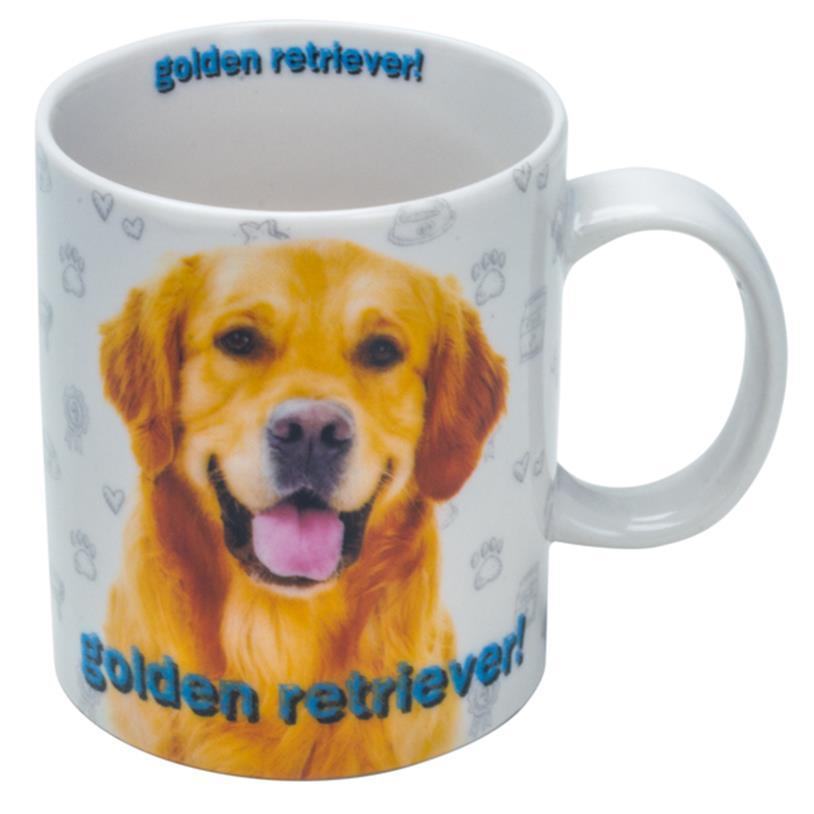 Imagem - CANECA GOLDEN RETRIEVER 330ML cód: 37951