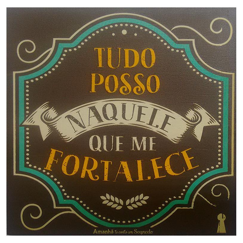 Imagem - IMÃ TUDO POSSO 09X09CM cód: 38105