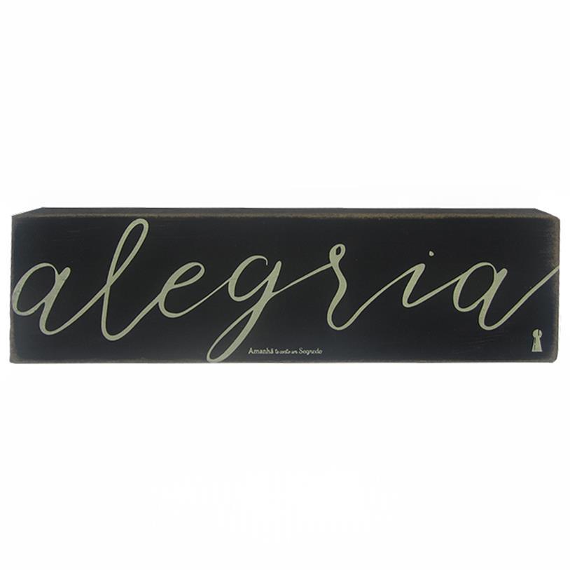 Imagem - QUADRO BOX ALEGRIA 08X30CM cód: 38123