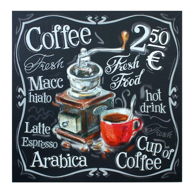 Imagem - QUADRO COFFEE MACHINE FULLWAY 60X60X3CM cód: 38521