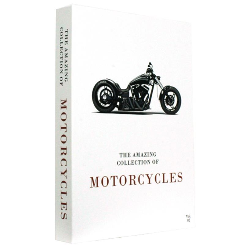 Imagem - CAIXA LIVRO MOTORCYCLES 36X27X5CM cód: 38523