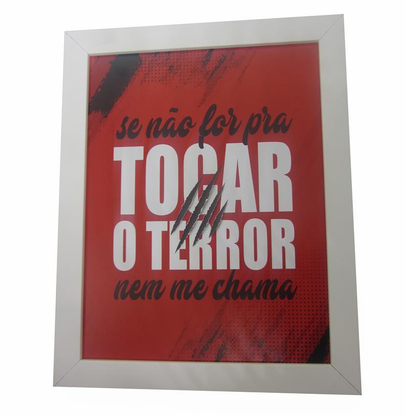 Imagem - QUADRO SE NÃO FOR PRA TOCAR 23X29,5CM cód: 38779