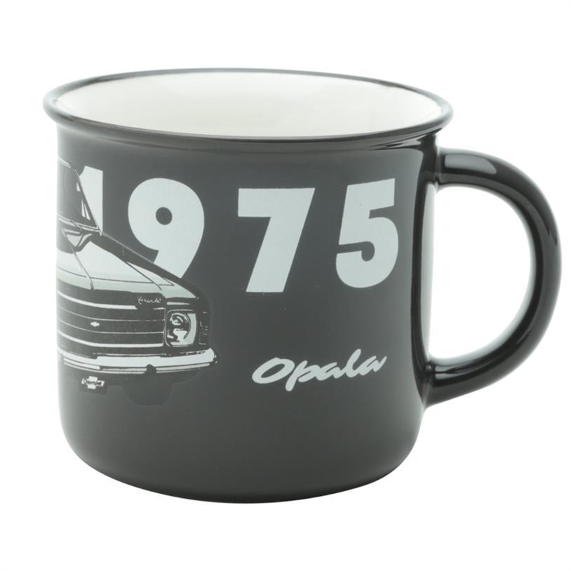 Imagem - CANECA GM OPALA 1975 PRETA 11X09CM cód: 39501