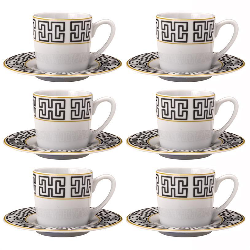Imagem - XÍCARAS DE CAFÉ EGYPT 90ML 06 PEÇAS cód: 39537