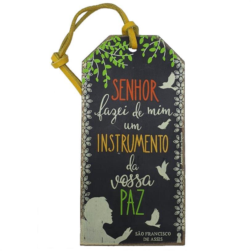 Imagem - TAG SÃO FRANCISCO 15X7,5CM cód: 39676