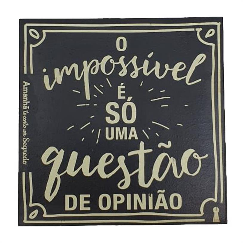 Imagem - IMÃ O IMPOSSÍVEL 09X09CM cód: 39677
