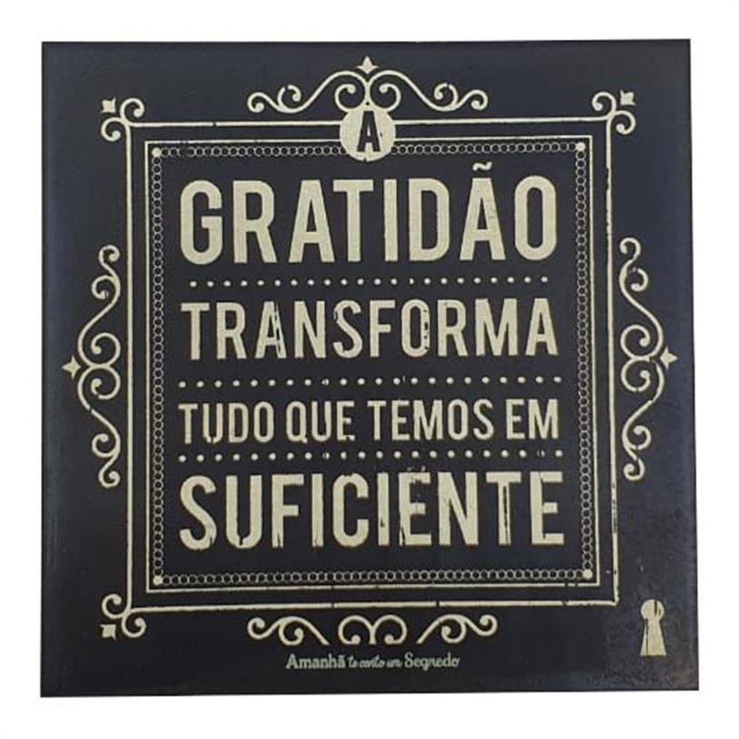 Imagem - IMÃ A GRATIDÃO 09X09CM cód: 39678