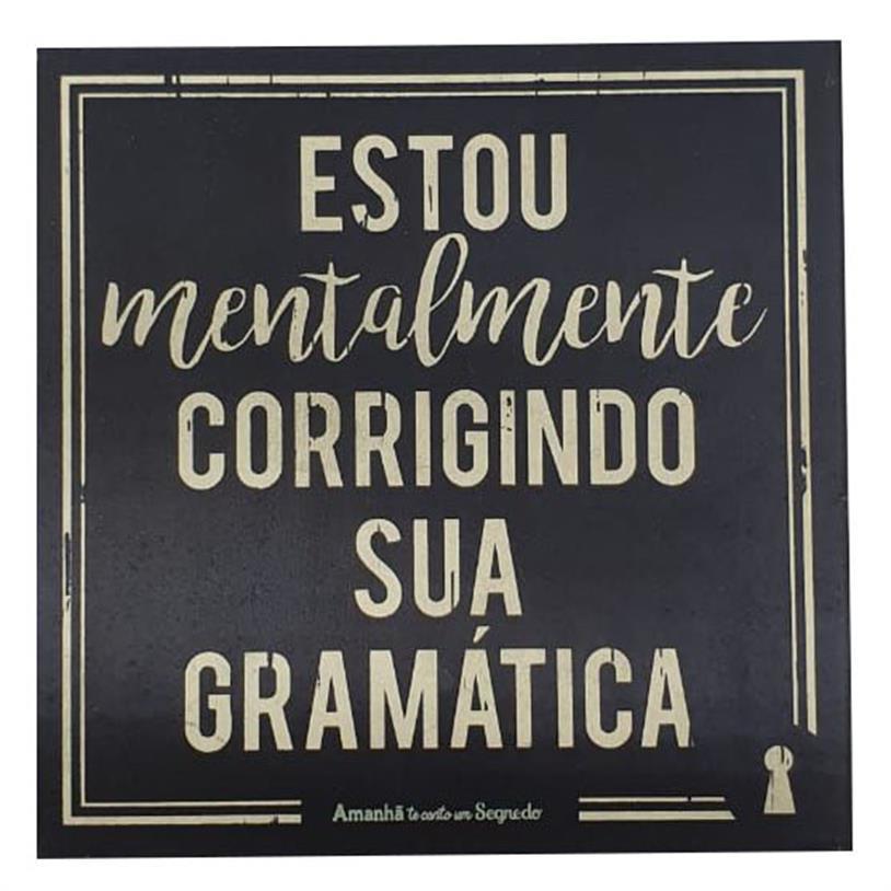 Imagem - IMÃ GRAMÁTICA 09X09CM cód: 39680