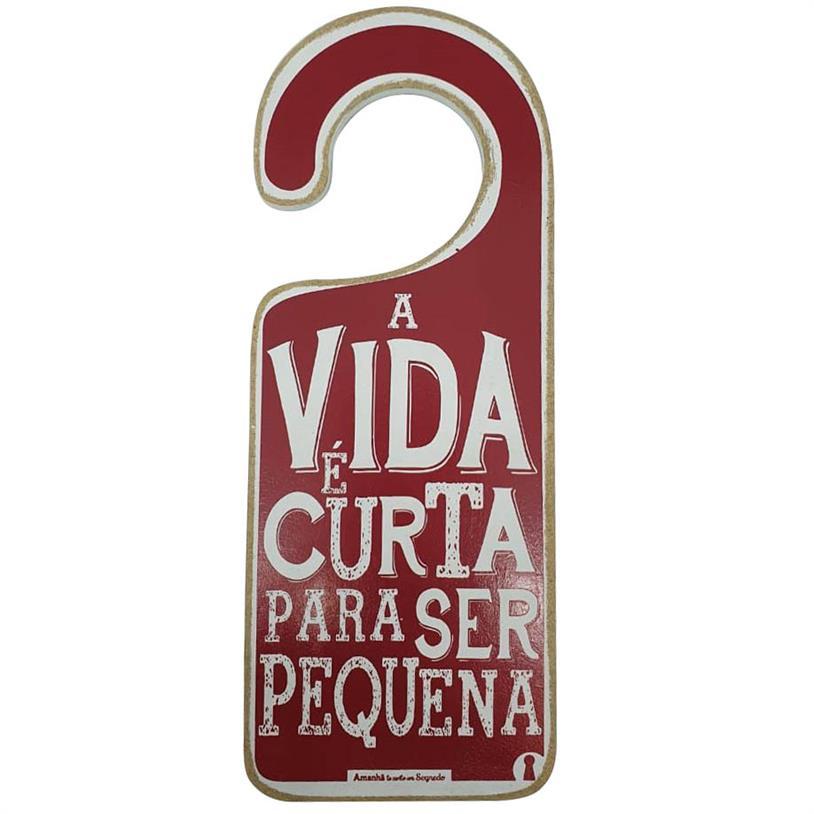 Imagem - TAG PORTA VIDA CURTA 15X7,5CM cód: 39691