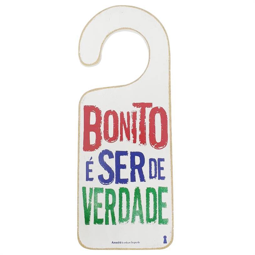 Imagem - TAG PORTA BONITO 15X7,5CM cód: 39694