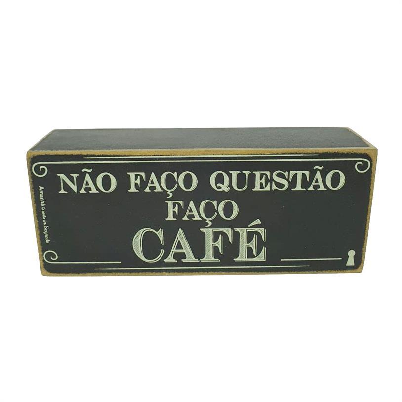 Imagem - QUADRO BOX FAÇO CAFÉ 06X15CM cód: 39699
