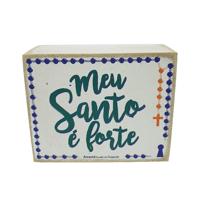 Imagem - QUADRO BOX SANTO FORTE 08X10CM cód: 39715