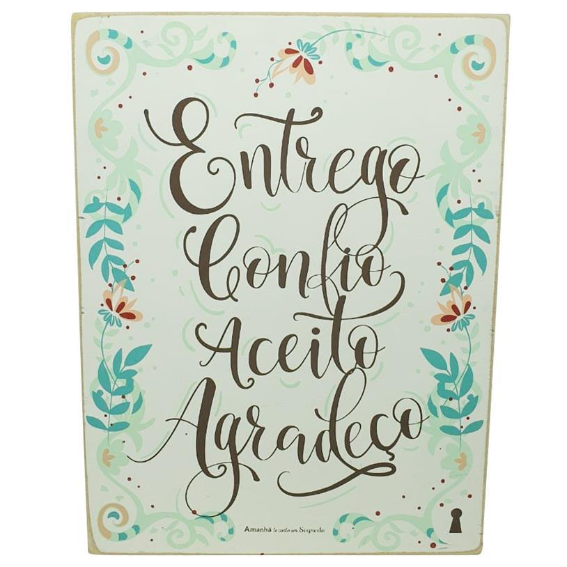 Imagem - QUADRO BOX ENTREGO CONFIO 30X40CM cód: 39744