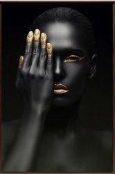 Imagem - QUADRO BLACK FACE 90X70CM cód: 40359