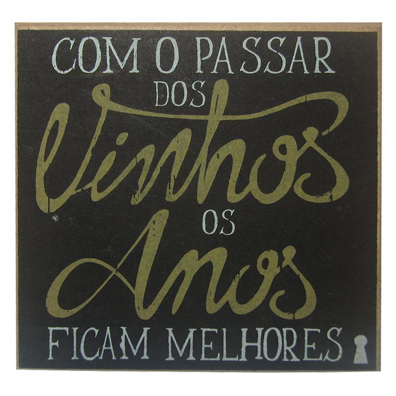 IMÃ COM O PASSAR DOS VINHOS 09X09CM