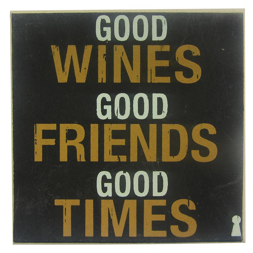 IMÃ GOOD WINE 09X09CM