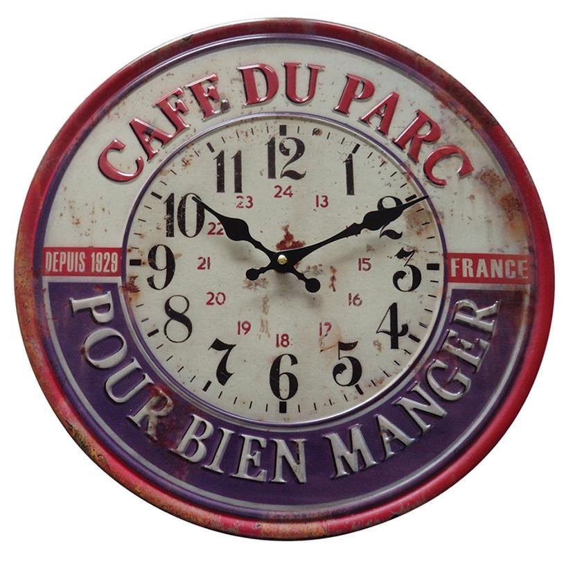 RELÓGIO CAFE DU PARC PARIS 40CM